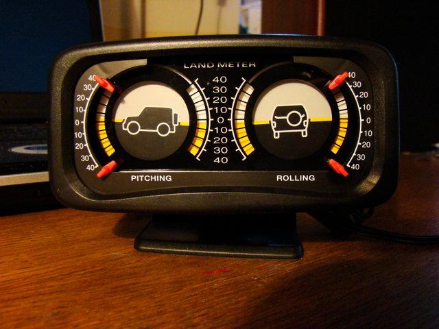 Автомобильный кренометр своими руками